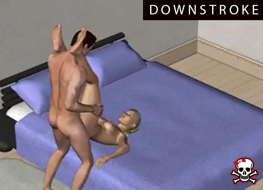 Downstroke Sex Position