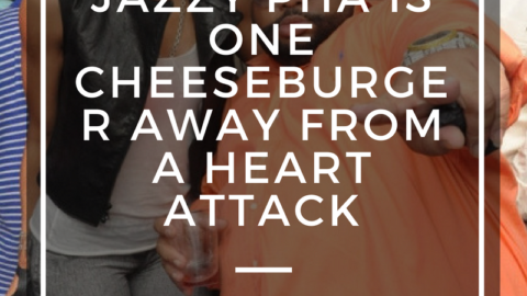 Jazzy Pha is One Chesseburger Away From a Heart Attack