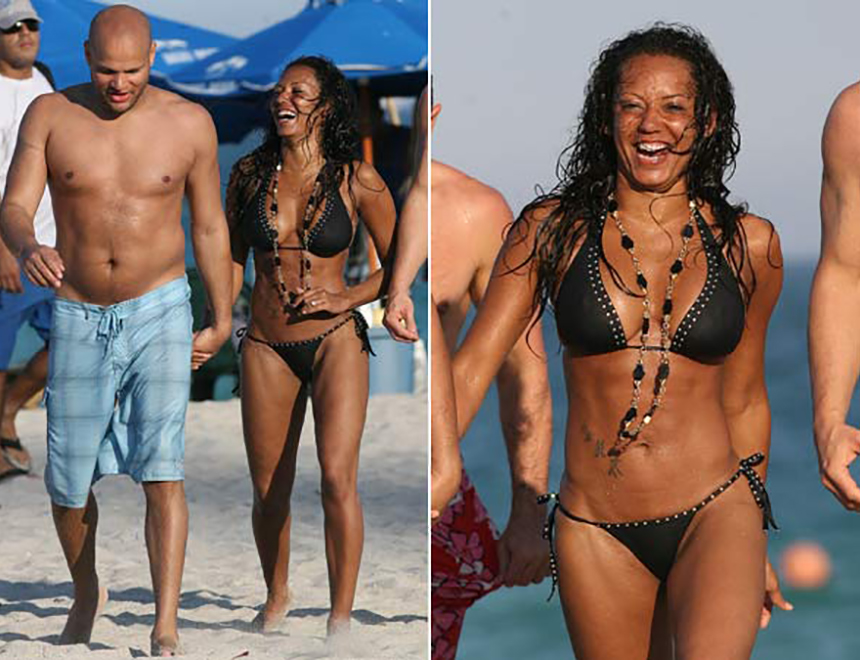 Mel B and Husband