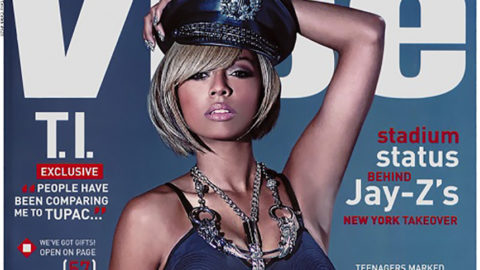Keri Hilson Heats Up the December Issue of Vibe