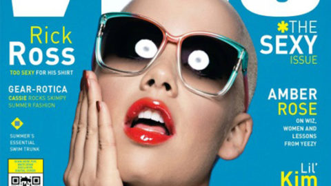 Amber Rose Covers Vibe's Sexy Issue and Licks a Popsicle