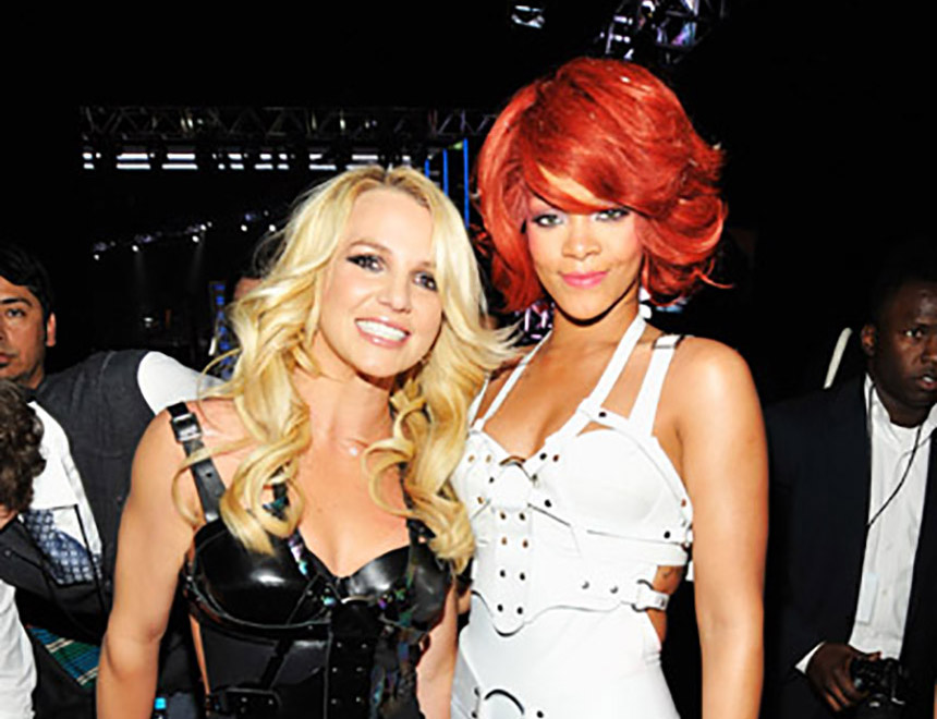 Rihanna and Britney