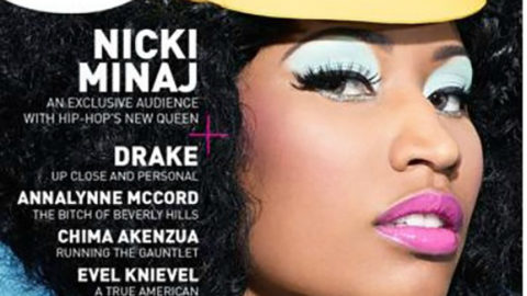 Nikki Minaj Brings Her Sexy to the Cover of 5 Magazine (Video)