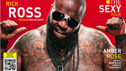 Rick Ross Covers Vibe's Sexy Issue