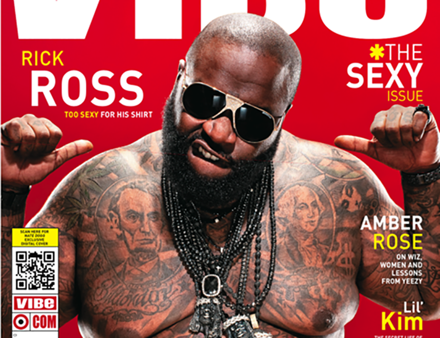 Rick Ross Vibe Cover