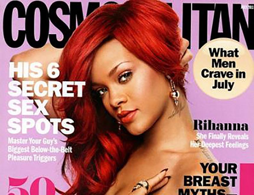 Rihanna Cosmo