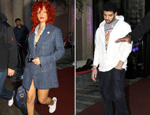 New Couple Alert? Drake and Rihanna Get Cozy in Montreal