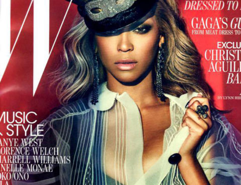 Beyonce Sexes it Up in W Magazine