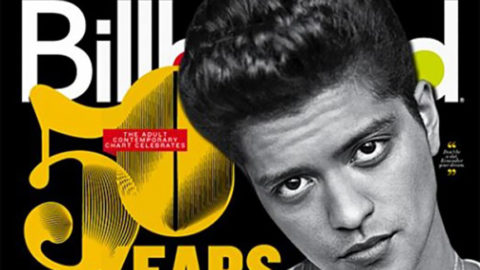 Bruno Mars Cuteness Covers Billboard Magazine