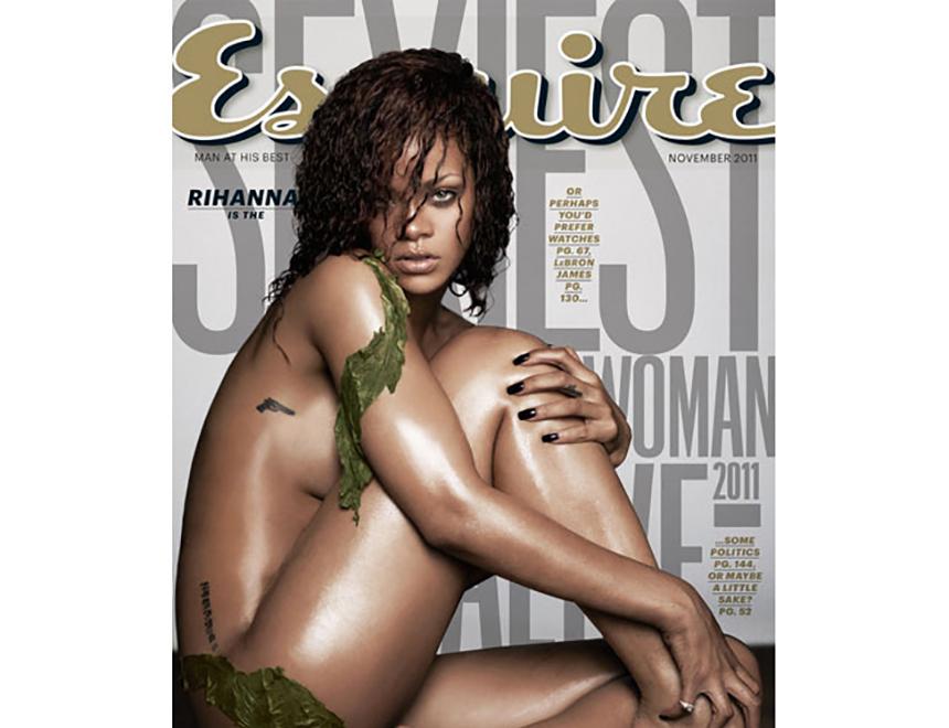 Rihanna Esqire Header