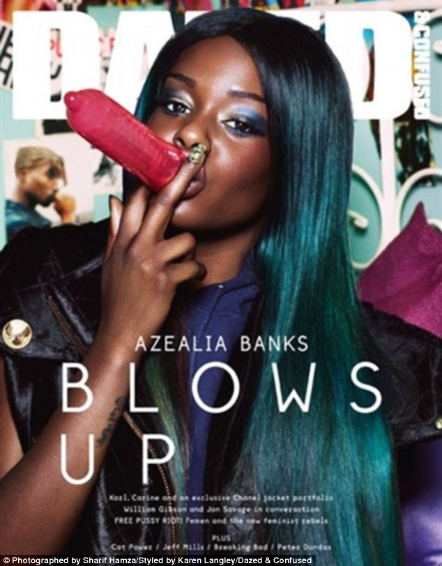 Azealia Banks Banks Dazed &Confused Cover