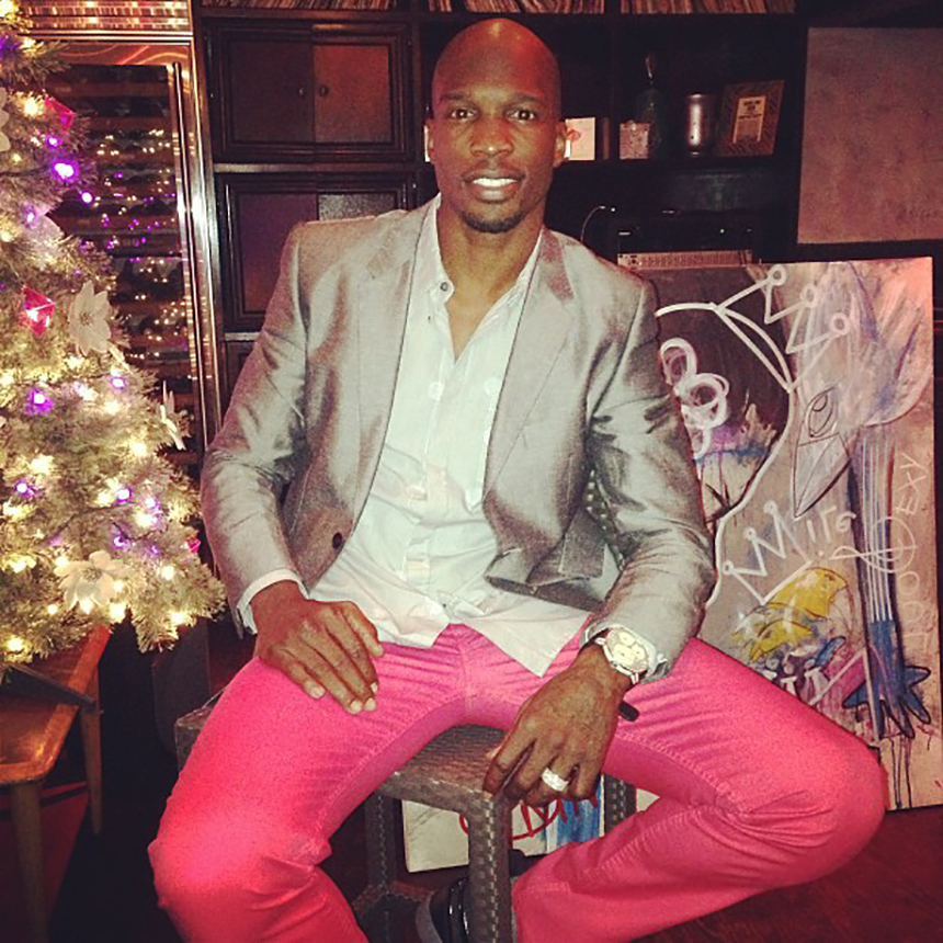 Chad Johnson At South Street