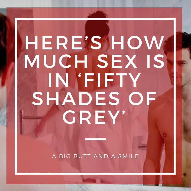 Here's How Much Sex is in 'Fifty Shades of Grey'