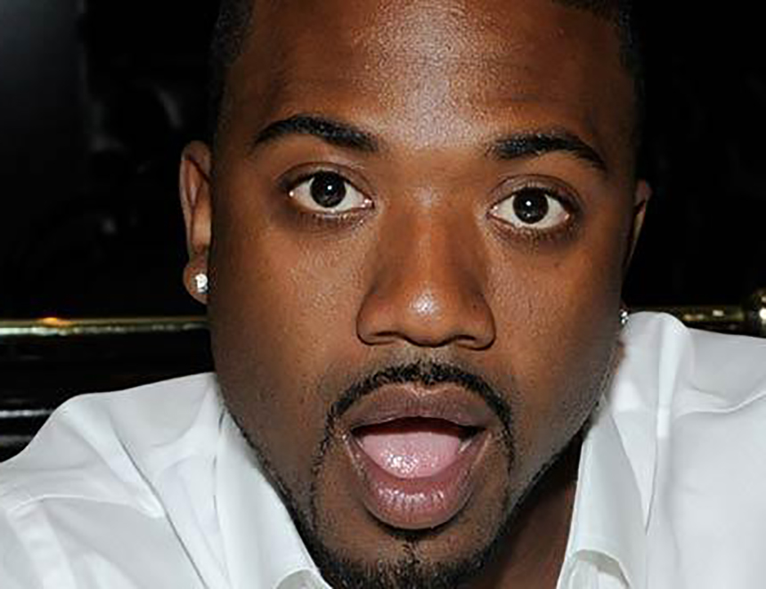 Ray J Is Packing For A Little Guy