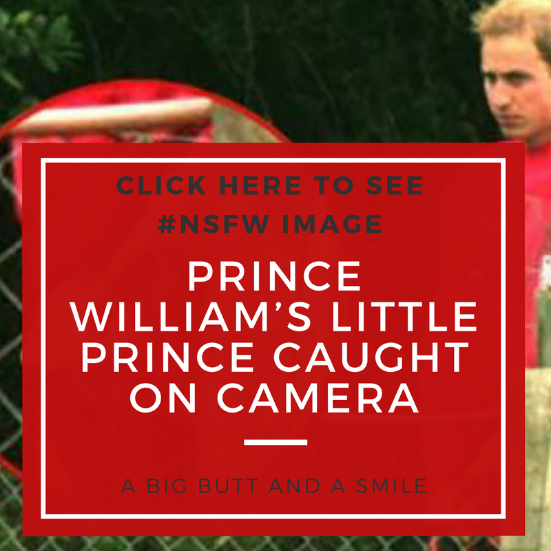 Prince WIlliam Penis Pic