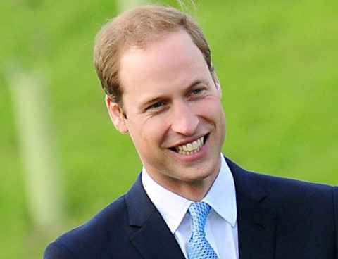 Prince William's Little Prince Caught On Camera