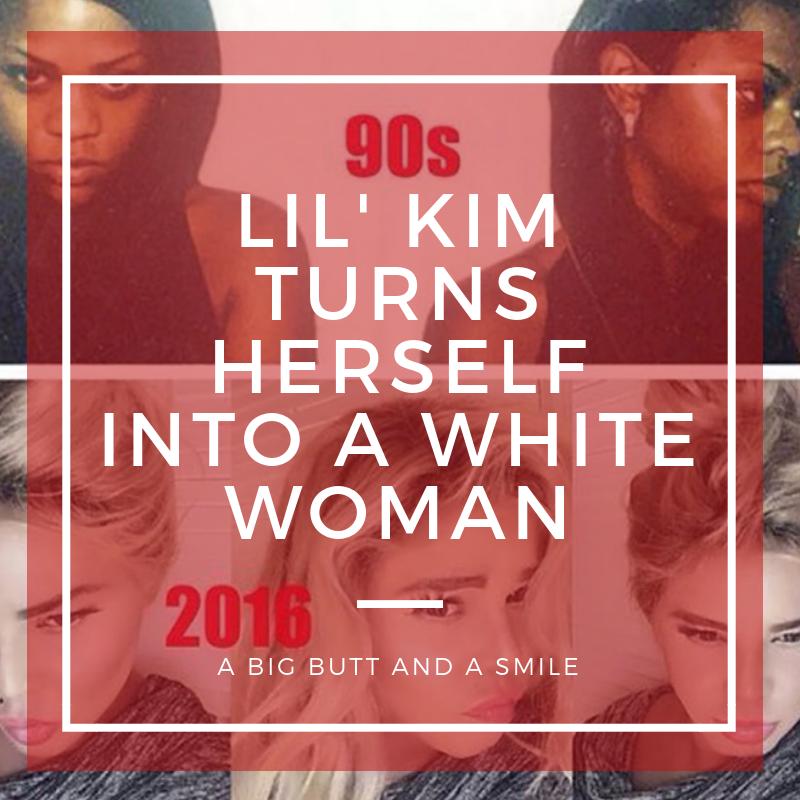 Lil Kim White Woman